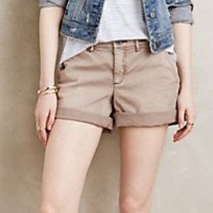 Anthropologie Hyphen Chino Shorts